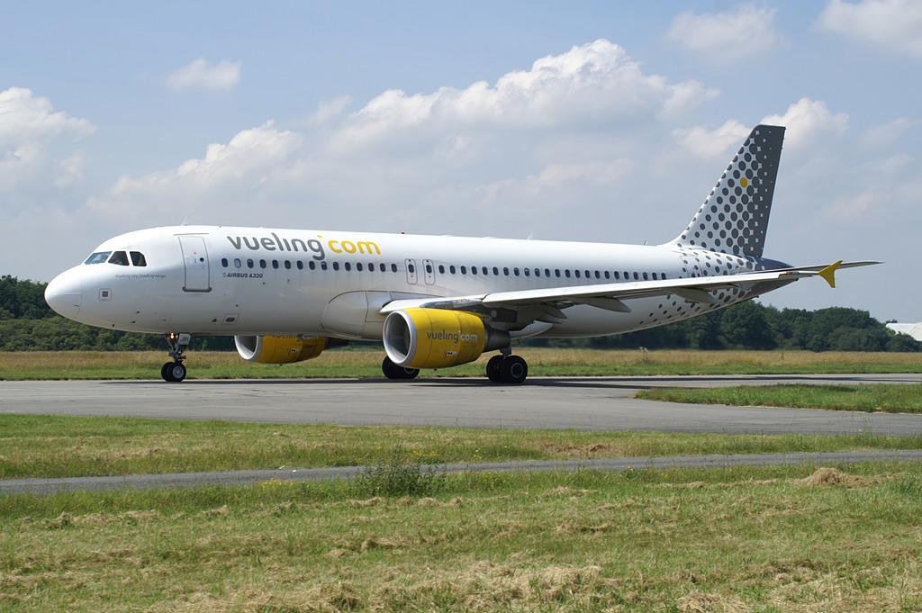 Un A320 avec wi-fi de Vueling