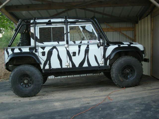 Zebre vendre 110v8 pr par for Arceau exterieur 4x4