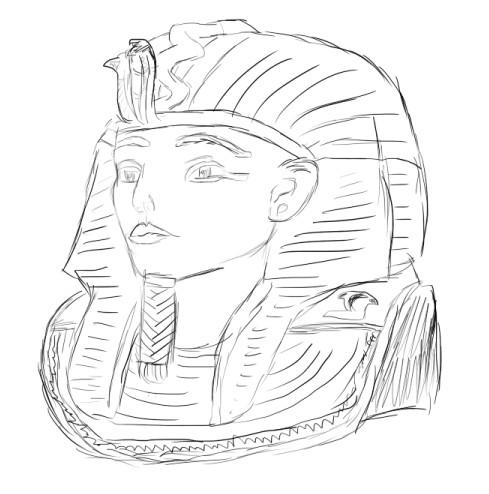 Tablette graphique et pharaon