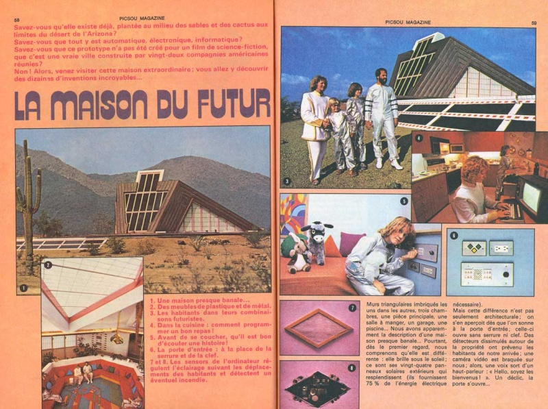 la maison du futur vue depuis l 39 ann e 1981 eighties le forum de la communaut fan des ann es. Black Bedroom Furniture Sets. Home Design Ideas