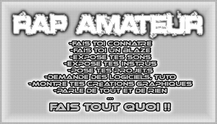 ...:::: Rap - Amateur :::...