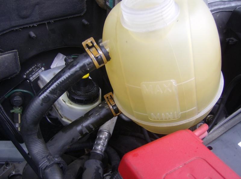 Changer vase d'expansion liquide de refroidissement