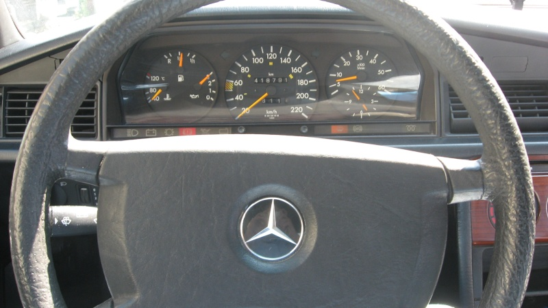 Ma 190 d 2 5 turbo for Interieur mercedes 190d