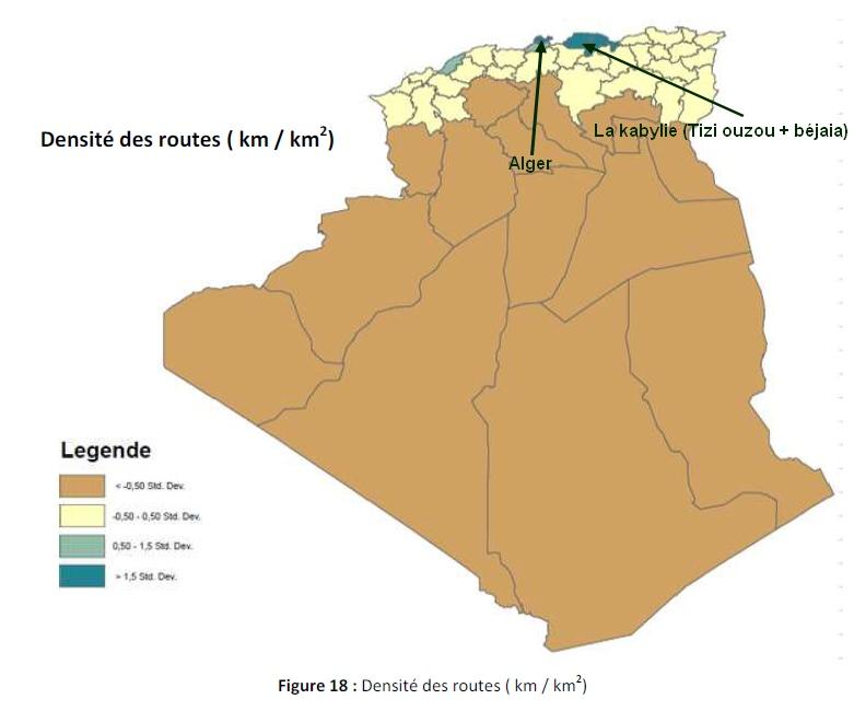 algérie autoroute est ouest