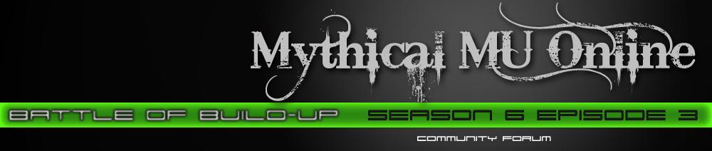 Mythical MU Community Forum