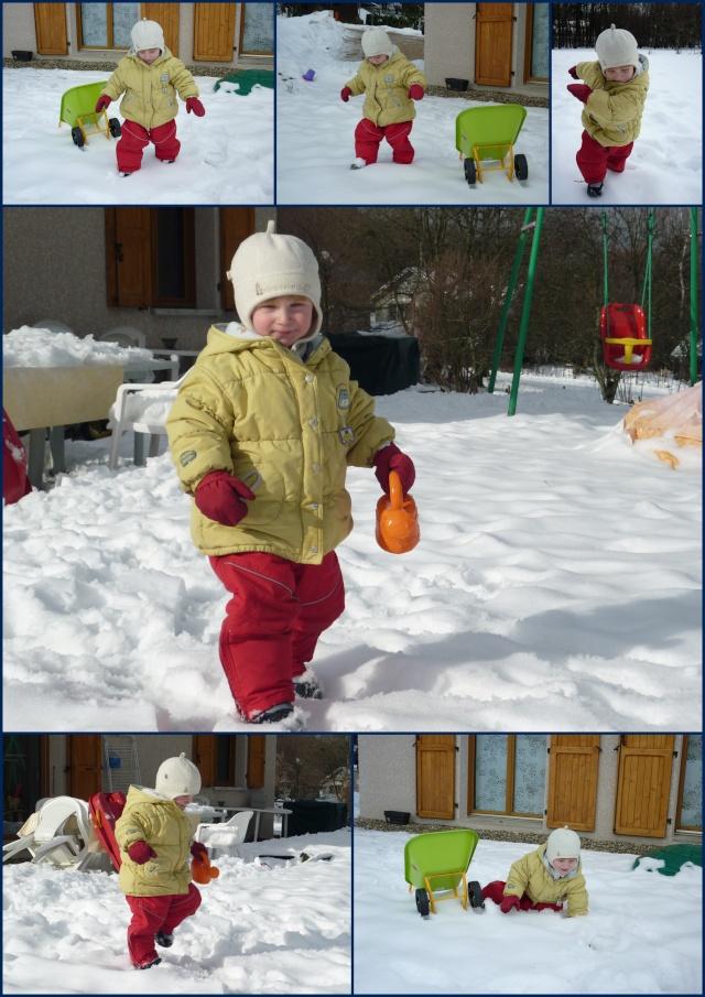 Dimanche 17 janvier 2010... on profite de la neige qui fond ! dans Les garçons 17-01-10