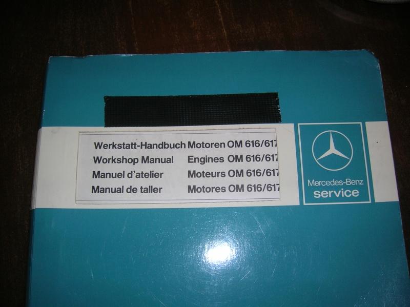 Manuel D Atelier Mercedes W