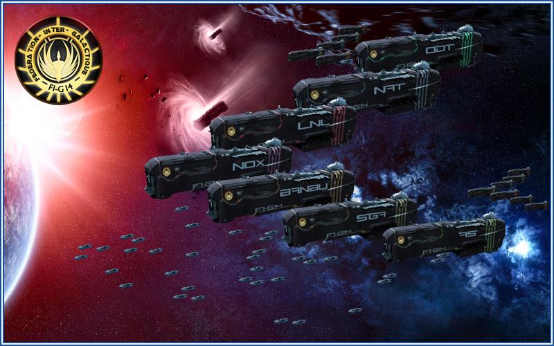 La Fédération Inter-Galactique du 14