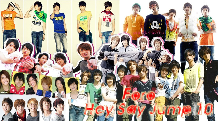 Hey! Say! JUMP y Otros Grupos