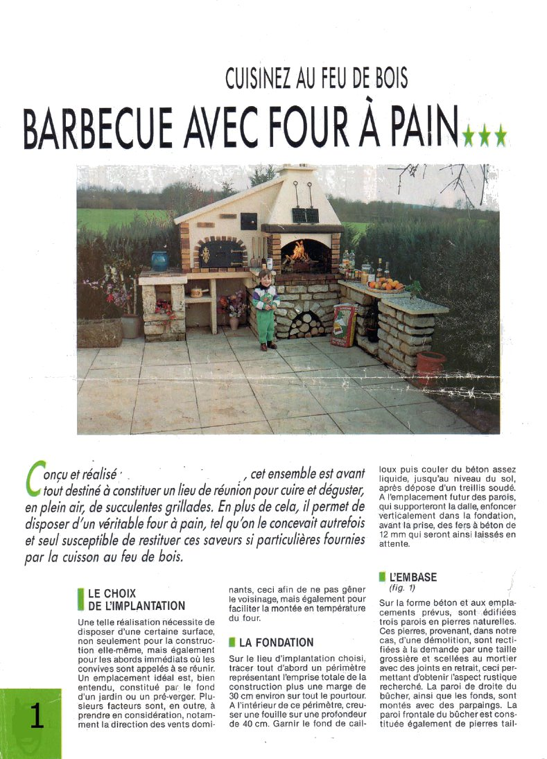 20170831052525 plan de four a pain exterieur for Plan de barbecue exterieur