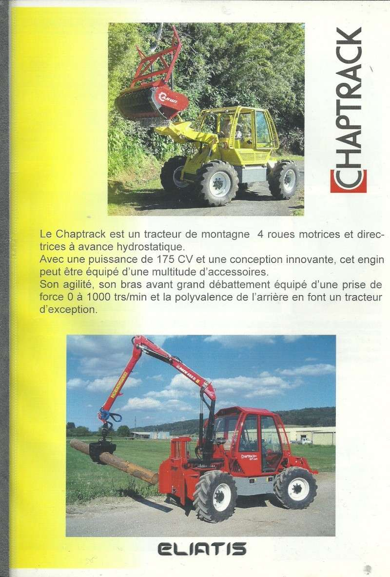 tracteur forestier chapuis 92