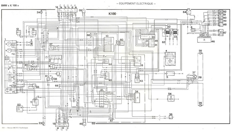 schema elettrico bmw k75  impianto elettrico ecovip  la k