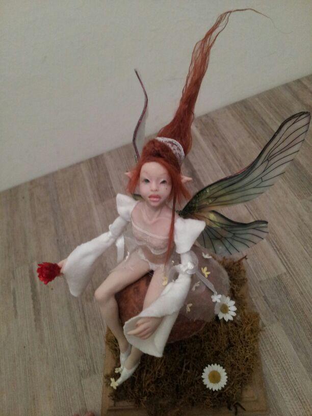ooak posable fairy prosculpt fungo mushroom