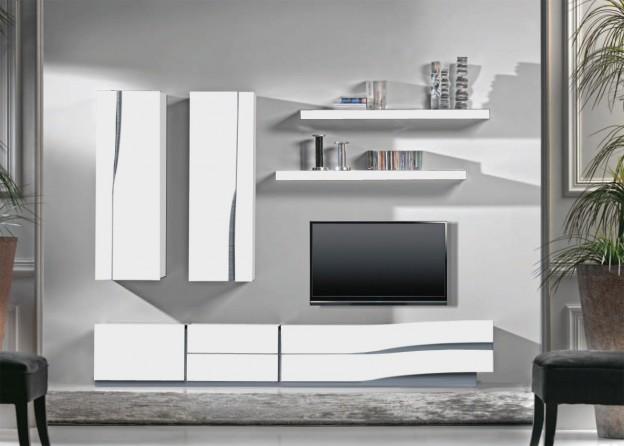Linadine conseils pour le salon for Meuble mural modulable