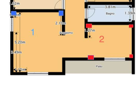 Casa moderna roma italy impianto di filodiffusione - Filodiffusione in casa ...