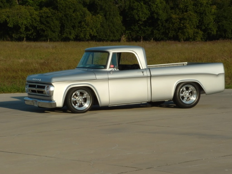 How about some pics of 61-71 dodge trucks